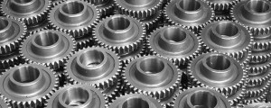Gears for inside transmission used at Tranco in Albuquerque