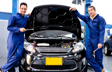 Technicians at Tranco Transmission