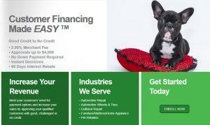Easypay financing